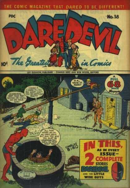 Daredevil Comics 37