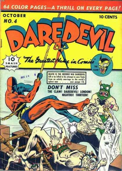 Daredevil Comics 4