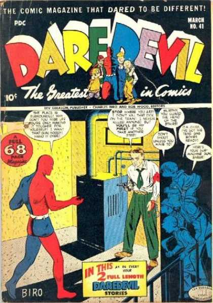 Daredevil Comics 40