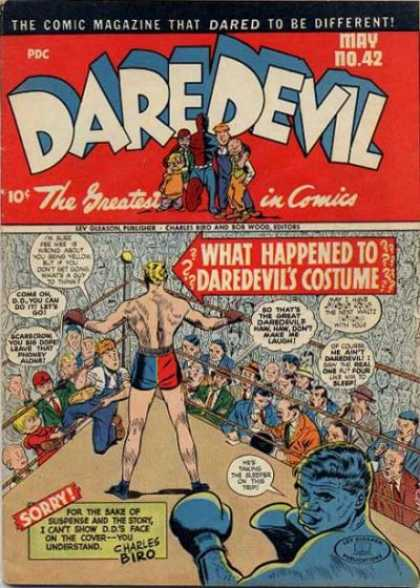Daredevil Comics 41