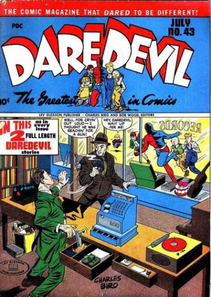 Daredevil Comics 42