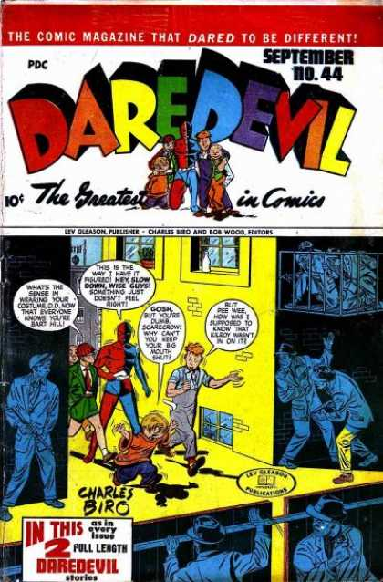 Daredevil Comics 43