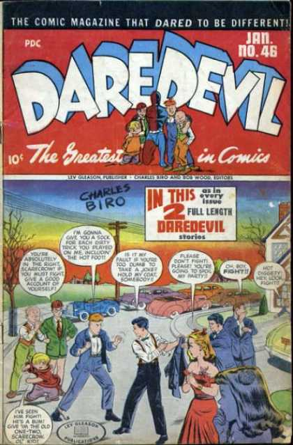 Daredevil Comics 45