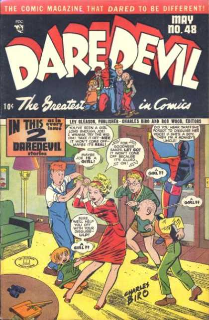 Daredevil Comics 47