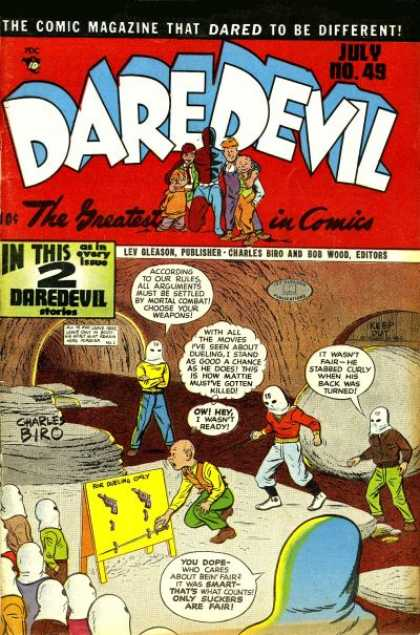 Daredevil Comics 48