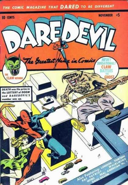 Daredevil Comics 5