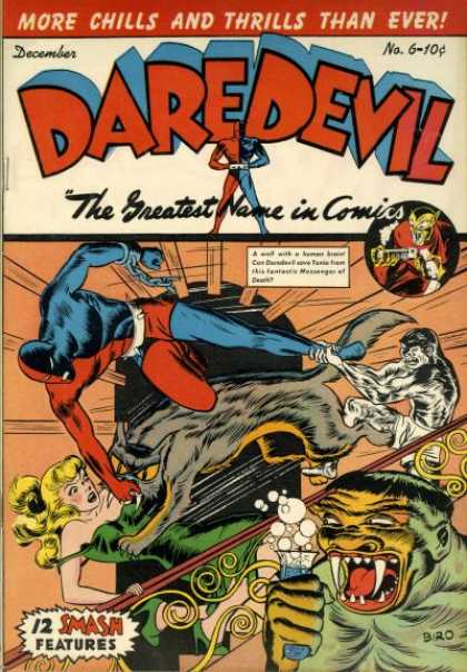 Daredevil Comics 6