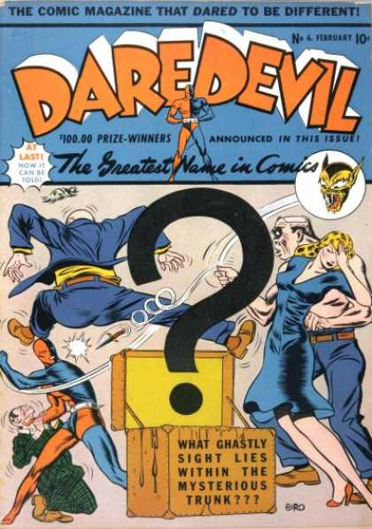 Daredevil Comics 7