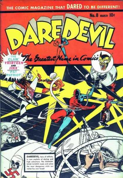 Daredevil Comics 8