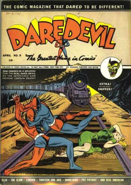 Daredevil Comics 9