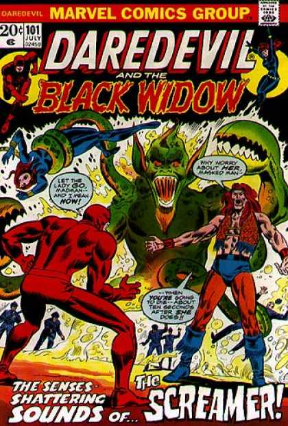 Daredevil 101 - Black Widow - The Screamer - Let The Lady Go - Sense Shattering Sounds - Green Monster