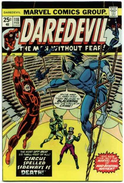 Daredevil 118 - Dark Devil - Hit Of Dark - Army Of Strength - Crime Catcher - Part Of Part