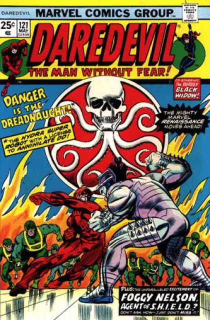 Daredevil 121 - Danger Is The Dreadnaught