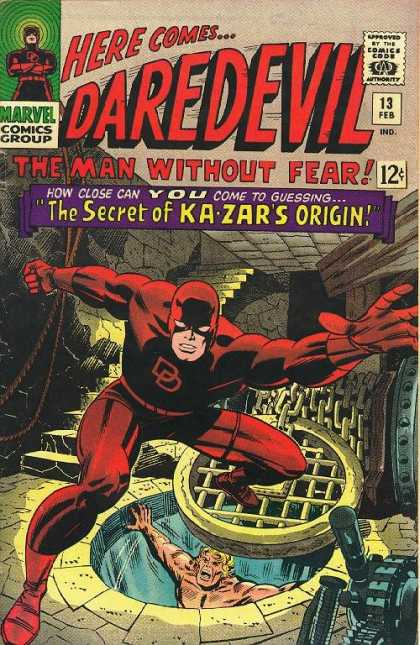 Daredevil 13 - Jack Kirby