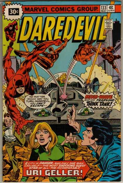 Daredevil 133 - Marvel Comics - Think Tank - 30 Cents - You Cant Escape - Smoke