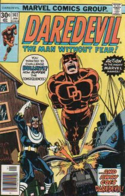 Daredevil 141 - Torture - Scream - Wooden House - Boat - Tank - Dave Cockrum