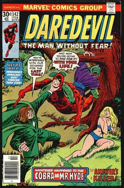 Daredevil 142 - Theyre Back - Last Time - Life - Killer - Schemes - John Buscema