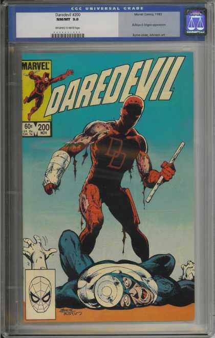 Daredevil 200 - Bullseye - Marvel - Cast - Walking Stick - Spiderman - John Byrne