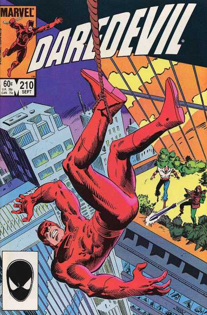 Daredevil 210 - Hero - Superhero - Ultimatehero - The Killer - The Saviour