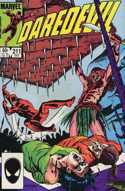 Daredevil 211 - Bed Of Spikes - Thats Gonna Hurt - It Will Leave A Mark - Saved By The Devil - Rituals
