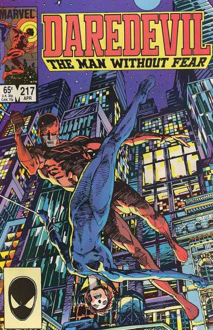 Daredevil 217 - Barry Windsor-Smith