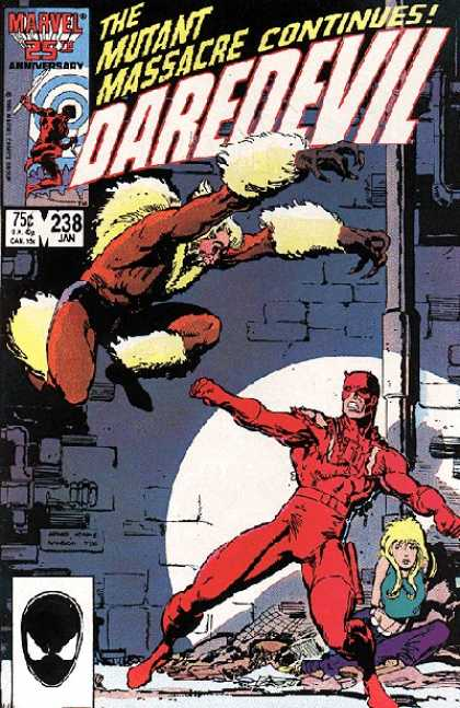 Daredevil 238 - Arthur Adams