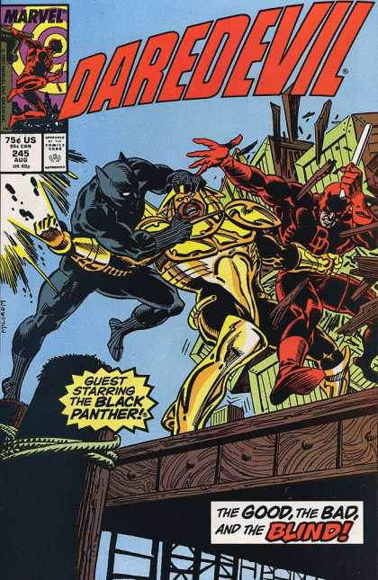 Daredevil 245 - Good - Bad - Blind - Black - Panther