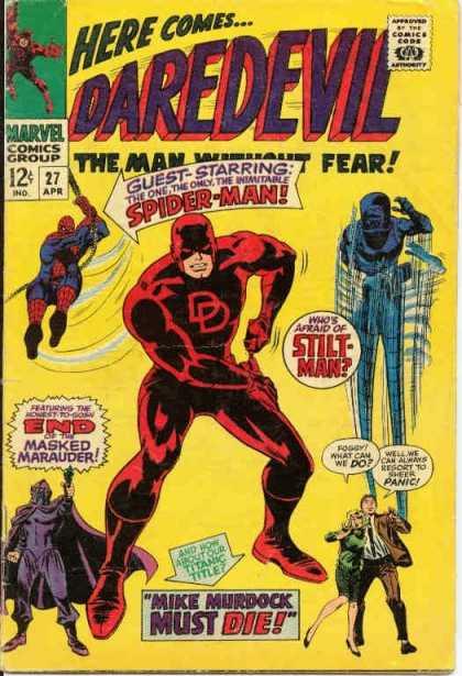 "DAREDEVIL ""action - classic"" 27-1"