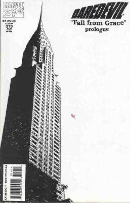 Daredevil 319 - Skyscraper - Long Way Down - Death Plunge - Fall From Gace - Ive Fallen And I Cant Get Up