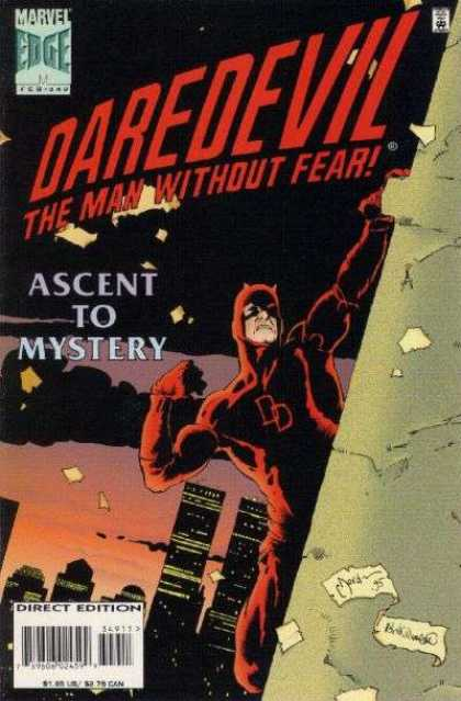 Daredevil 349 - The Man Without Fear - Ascent To Mystery - Dd - Climbing - Tall Buildings