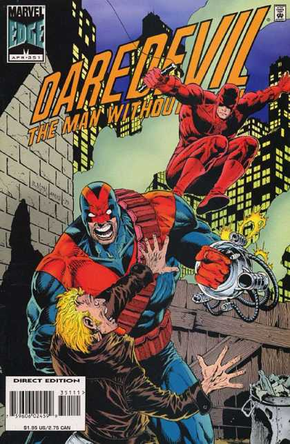 Daredevil 351 - Marvel - Marvel Comics - Edge - Night - Man Without Fear