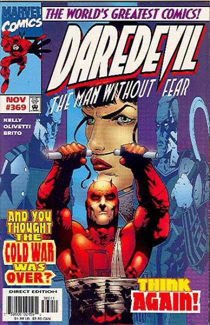 Daredevil 369 - The Man Without Fear - Kelly - Olivetti - Brito - Cold War