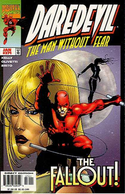 Daredevil 371 - Kelly - Olivetti - Briyo - Marvel - The Fallout