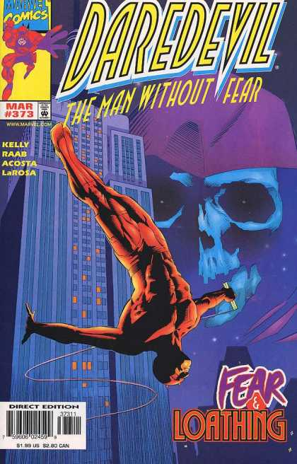 Daredevil 373 - Man Without Fear - Fear U0026 Loathing - Kelly - Raab - Acosta