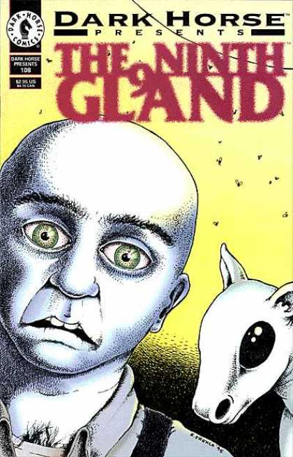 Dark Horse Presents 108 - Bald Head - Green Eyes - Flies - Hairy Chest - Frightened Look