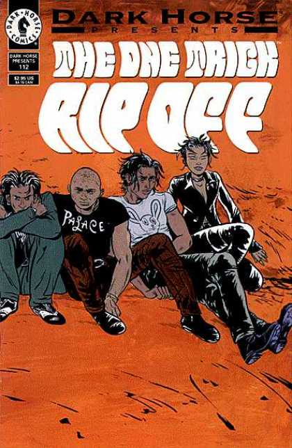 Dark Horse Presents 112 - Dark Horse Comics - Pasace - Rip Off - The One Trick - Man - Paul Pope