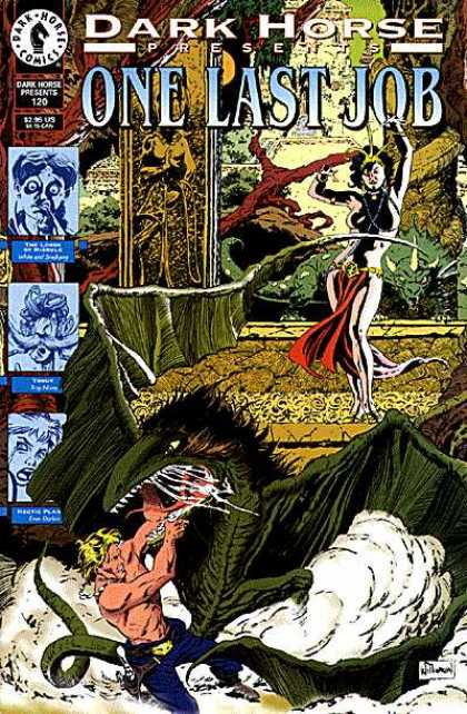 Dark Horse Presents 120 - One Last Job - Woman - Witch - Giant Bird - Crown - Al Williamson