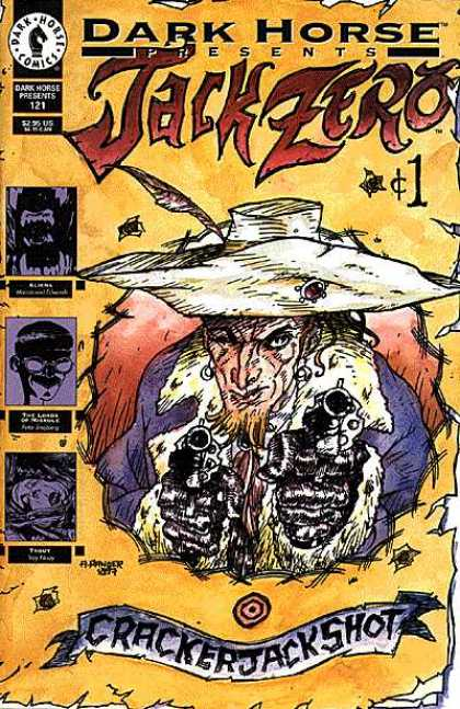 Dark Horse Presents 121 - Jack Zero - 121 - Cracker Jack Shot - Cowboy - Guns