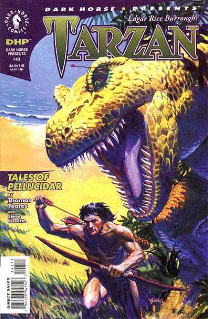 Dark Horse Presents 143 - Dinosaur - Tales Of Pellucidar - Bow - Arrow - Thomas Yeates - Thomas Yeates
