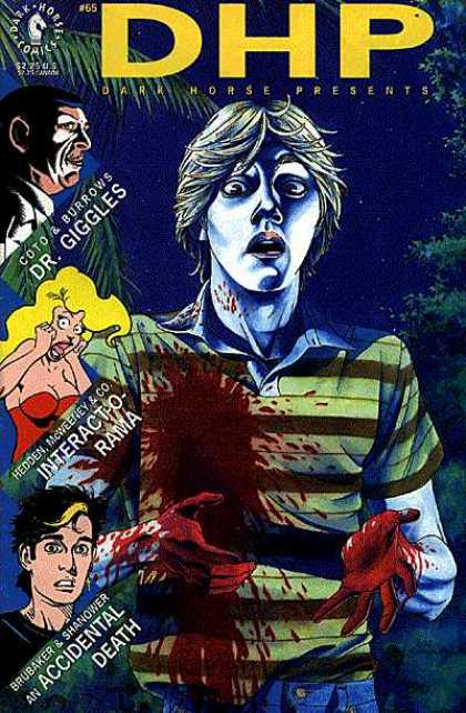 Dark Horse Presents 65 - Dr Giggles - Gruesome - Blood - Death - Victim