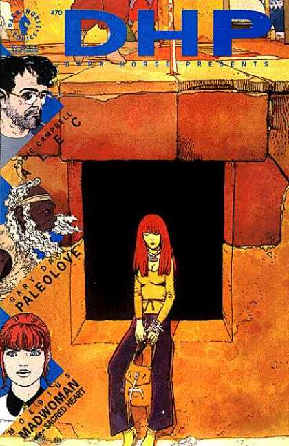 Dark Horse Presents 70 - Tomb - Man - Red Hair - Girl - Alec - Jean Giraud