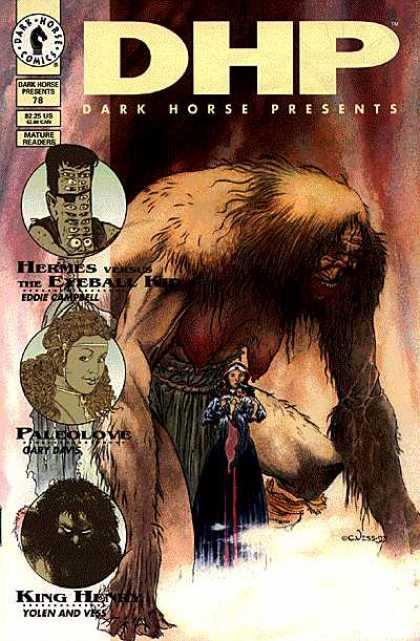 Dark Horse Presents 78 - Dhp - Yolen And Yess - Eddie Camphell - Paleolove - King Hermes - Charles Vess