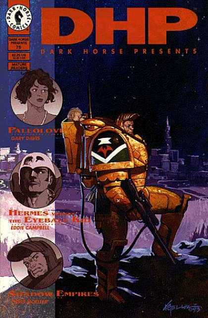 Dark Horse Presents 79 - Dark Horse - Mature Reading - Armor - Paleolove - Gary Davis