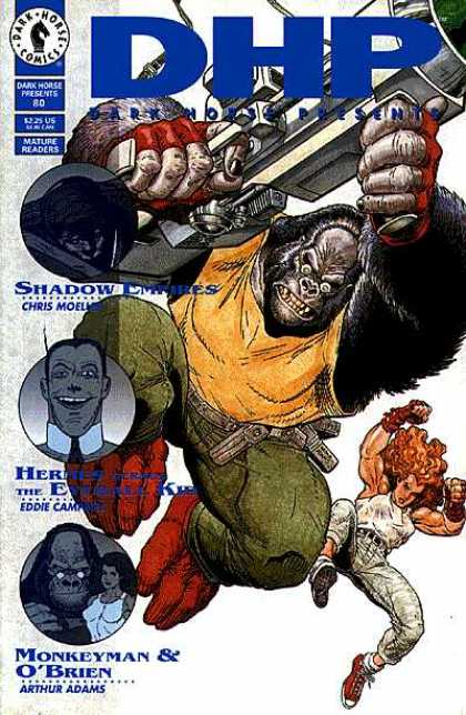 Dark Horse Presents 80 - Dark Horse - Mature Readers - Arthur Adams - Monkeyman - Obrien - Arthur Adams
