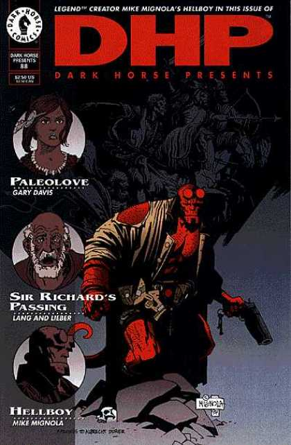 Dark Horse Presents 88 - Dark Horse Comics - Paleolove - Hellboy - Sir Richards Passing - Mignola - Matt Hollingsworth, Mike Mignola