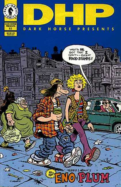 Dark Horse Presents 93 - Green Dress - City - Guy In Green Car - Blonde Chick - Beer Guy
