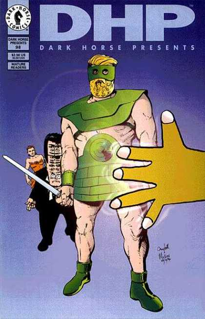 Dark Horse Presents 98 - Dark Horse Comics - Dhp - Dark Horse Presents - Green Costume - Big Forehead - Eddie Campbell