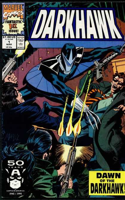 Darkhawk 1 - Night Of Revenge - A Legend Swoops - Caught In The Claws - A Legend Is Born - Swooping On The Mob - Mike Manley