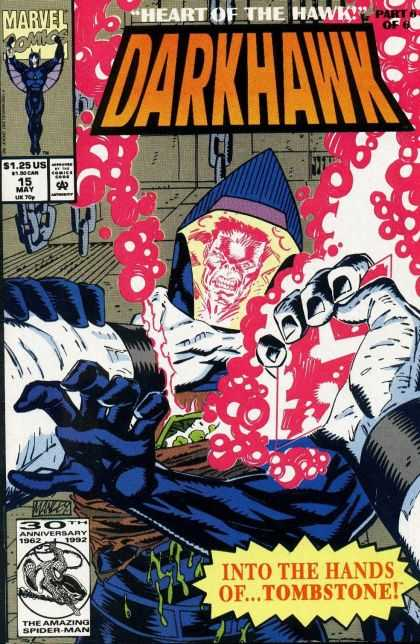 Darkhawk 15 - Marvel Comics - Heart Of The Hawk - Tombstone - 30th Anniversary - Spider Man - Mike Manley