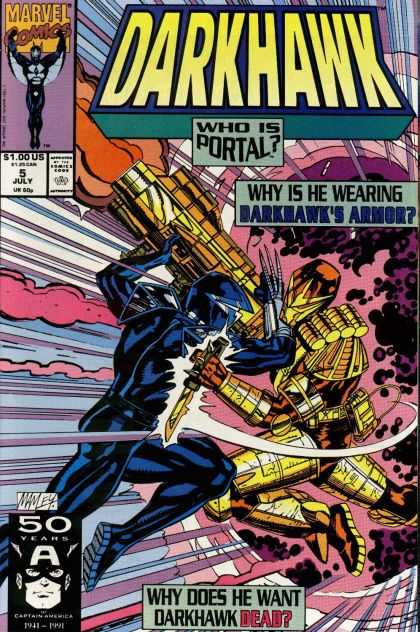 Darkhawk 5 - Mike Manley